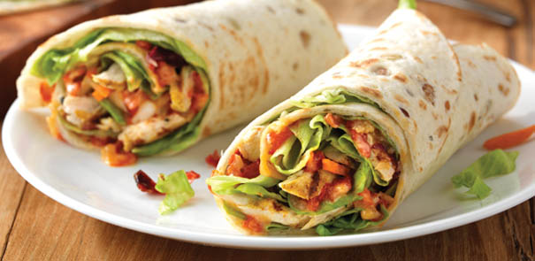 Lunches Pikante Kip Wrap